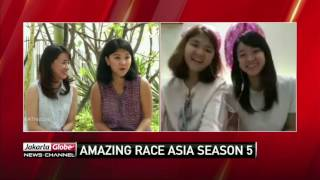 Indonesia Highlights Talks To One Of The Indonesian Teams Competing In The Amazing Race Asia