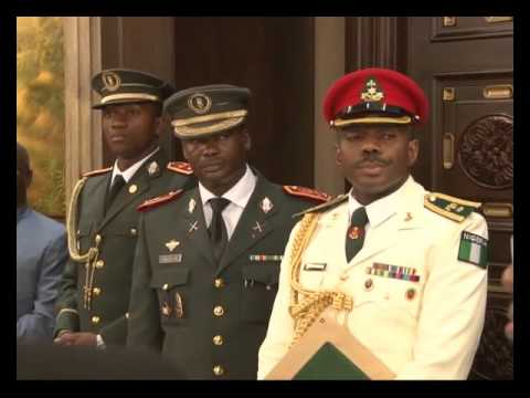 Equitorial Guinea Confers Highest Hoour On Buhari