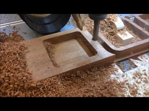 DIY CNC milling wood boxes.