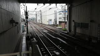 西武6000系6152編成(機器未更新車) 当駅止まり回送 和光市発車