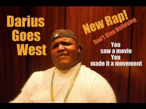 darius new rap dont stop believing darius goes west