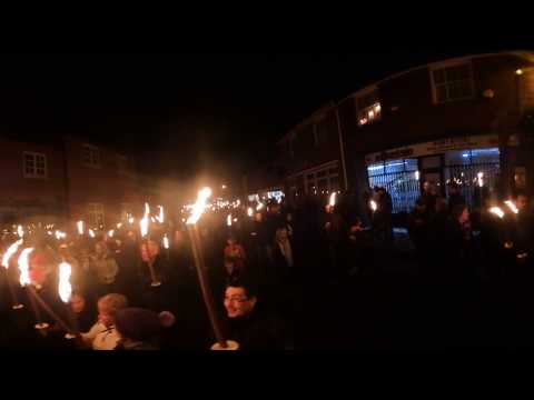 Nikon Keymission 360 Goring on Thames Torchlight Procession 360 VR