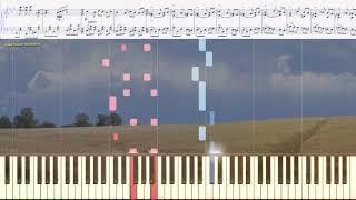 All by myself - S.Rachmaninoff (Eric Carmen)(Ноты и Видеоурок для фортепиано) (piano cover)