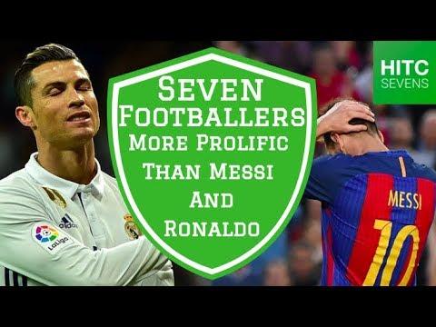7 Footballers More Prolific Than Cristiano Ronaldo and Lionel Messi   HITC Sport