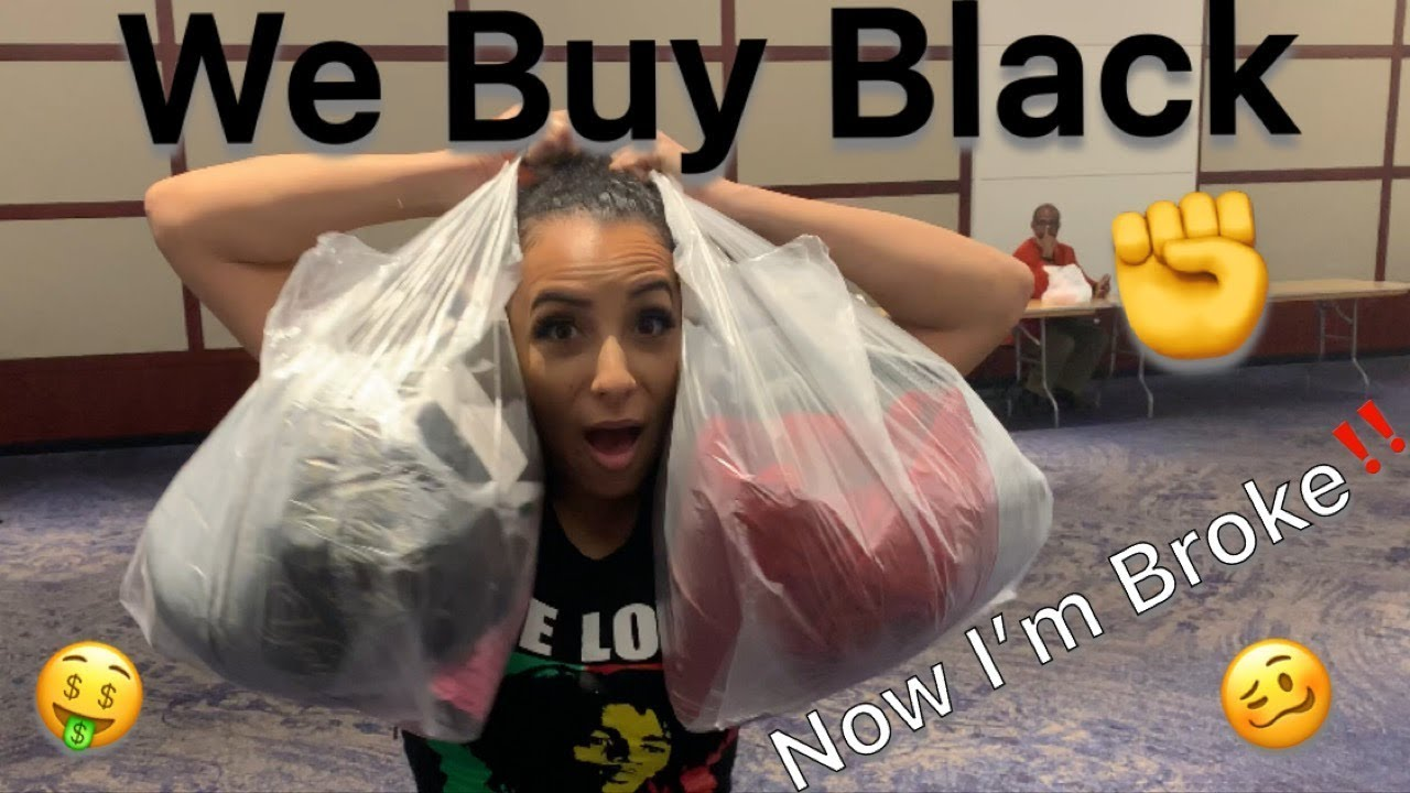 First Time at We Buy Black Convention Vlog
