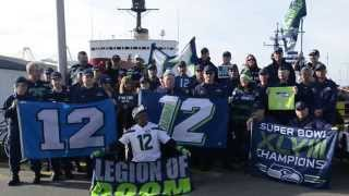 Coast Guard Seattle Seahawks NFL Playoffs Shoutout
