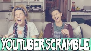 YOUTUBER SCRAMBLE W/ GRACE HELBIG