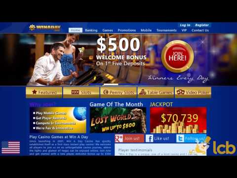 Win A Day Casino Video Review
