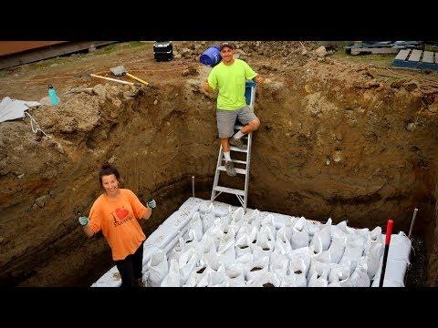 Earthbag Root Cellar Build | Off Grid Food Storage (Part 1)
