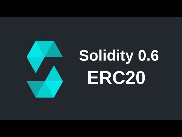 How to Use an ERC-20 Token | Solidity (0.6)
