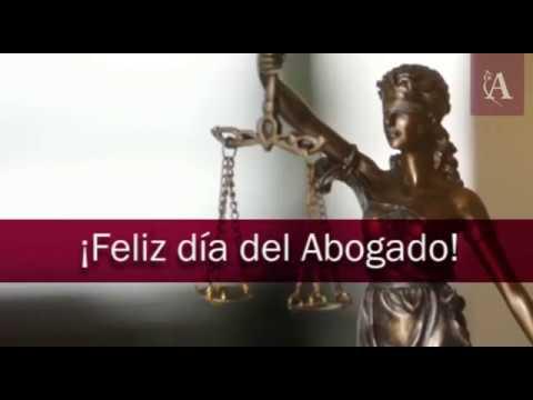 ¡Feliz día del abogado!