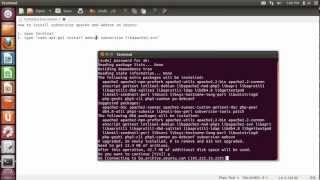 How to install Apache2 Subversion and WebSVN on Ubuntu