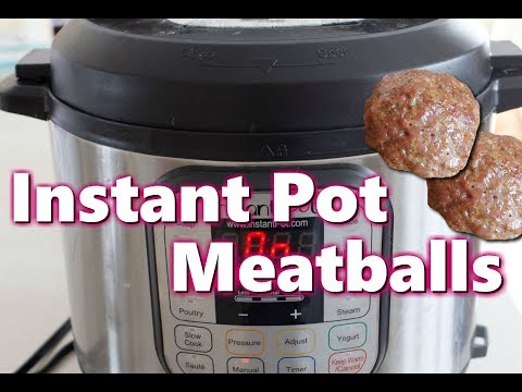 Instant Pot Meatballs Frozen Fully Cooked