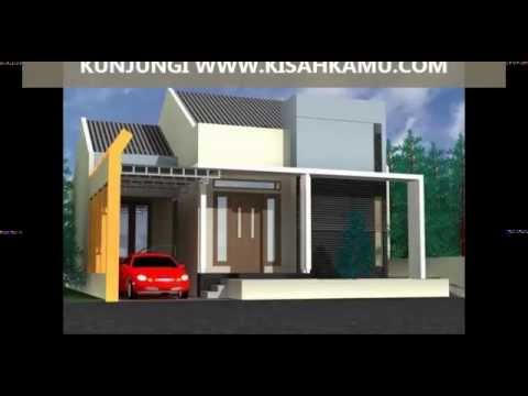 house design denah rumah minimalis 1 lantai 3 kamar tidur