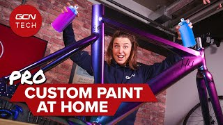 How To Custom Paint A Bike Like A Pro With Some Help From Fatcreations