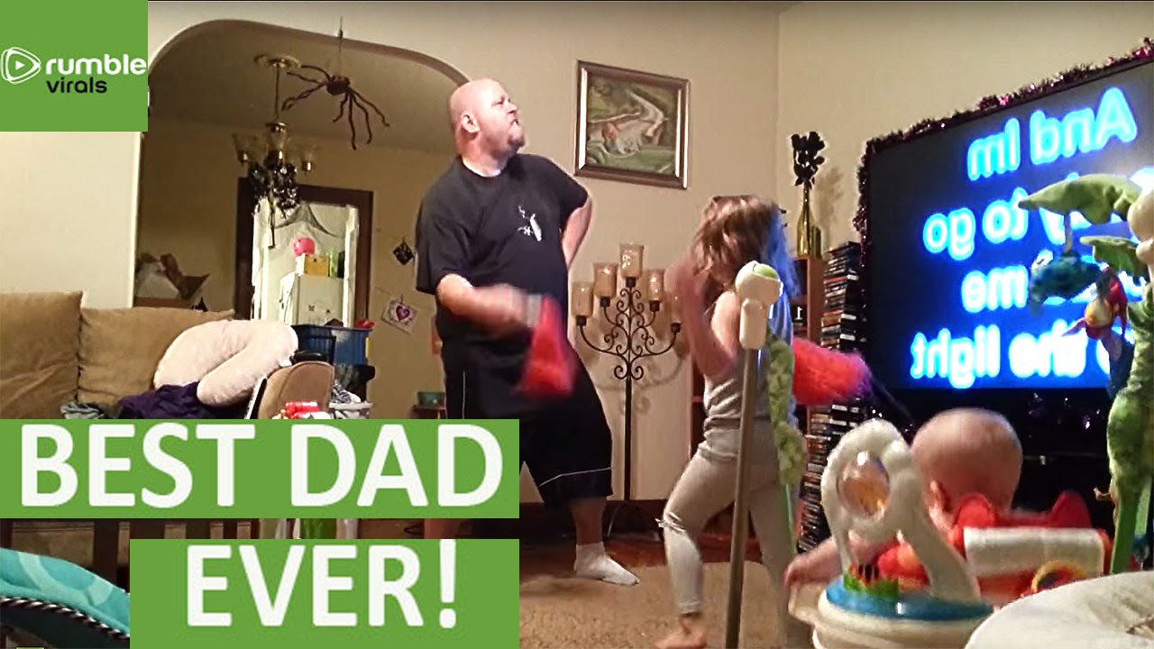 Mom Finds Out How Dad Watches The Kids YouTube - Dad entertains 5 kids