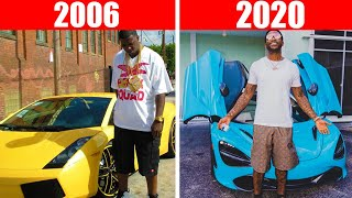 Rappers Cars Then VS Now