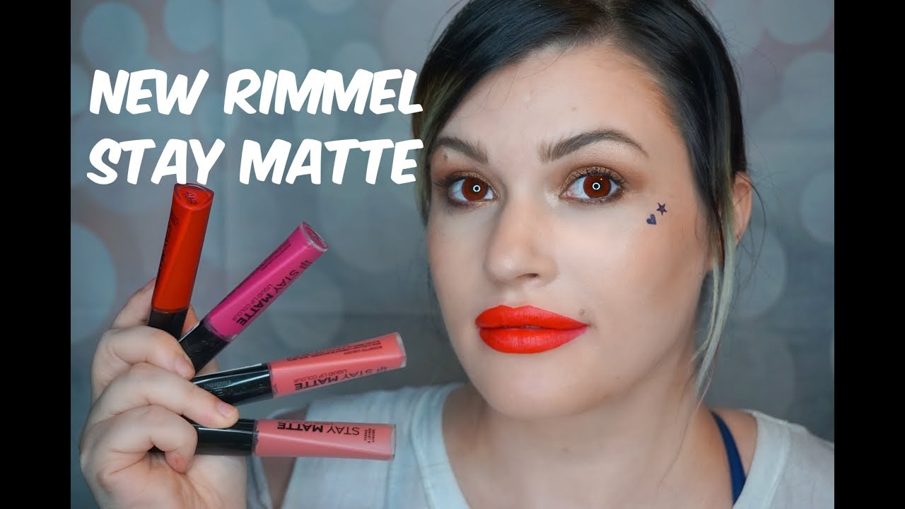 New Rimmel London Stay Matte Liquid Lip Colour Review Of Collection