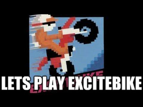 Classic Games - Excitebike (NES) Let's Play - 8-Bit Eric - 동영상