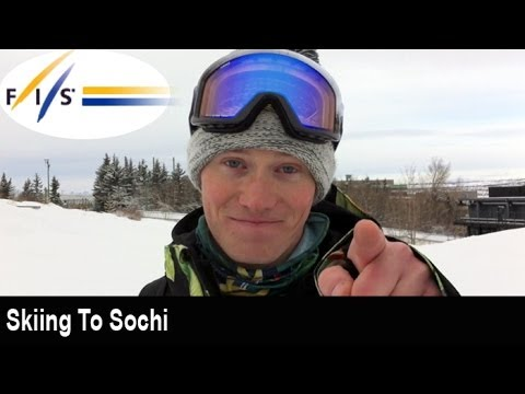 Skiing to Sochi with Mike Riddle
