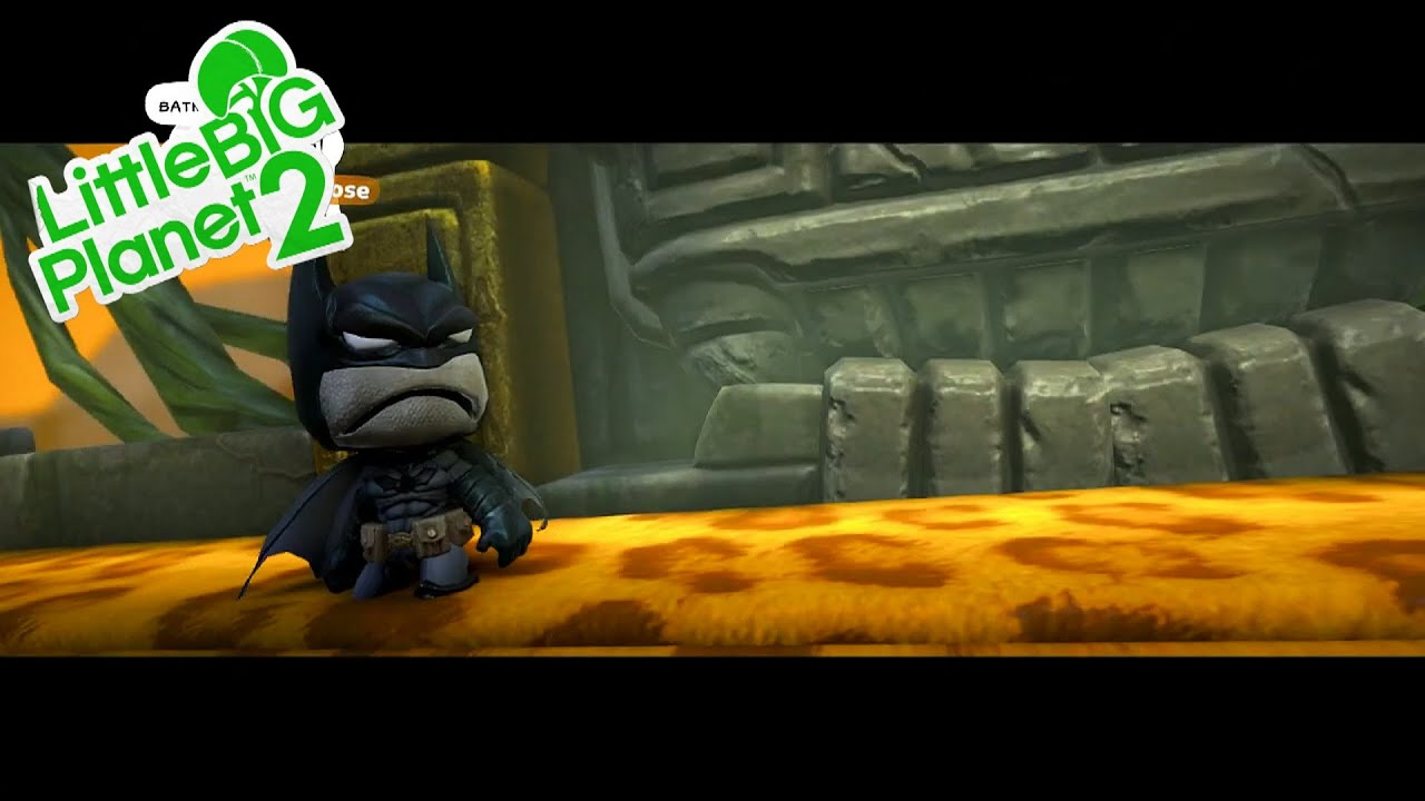 LittleBigPlanet 2 DC Comics Premium Level Pack - Trouble At The Temple