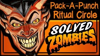 SOLVED!! Pack-A-Punch Ritual Circle (CIPHER SOLVED) IW SpaceLand Zombies