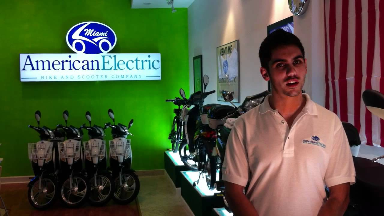 c57f14d67bb Welcome to American Electric Bike & Scooter - YouTube