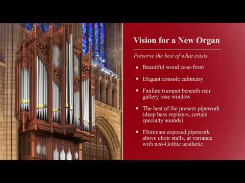 A New Chancel Pipe Organ for Saint Thomas Church, New York City