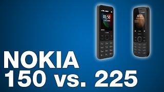 Nokia 150 vs. Nokia 225 - Featurephones im Vergleich (2021)