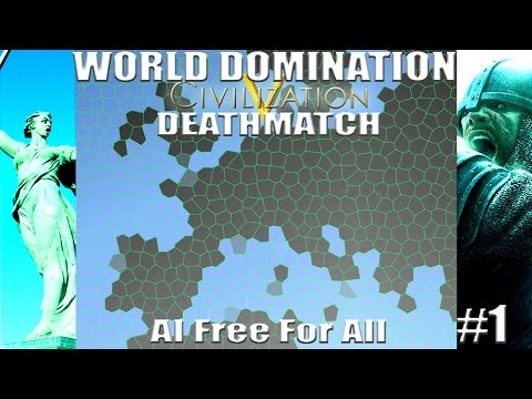 Civ 5: World AI Only Free For All Deathmatch