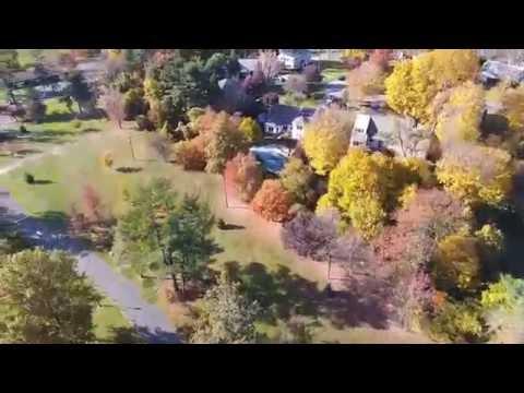 View of Crawford park Rye Brook New york