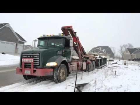 (563) 332-2555 Waste Management Dumpster Bettendorf, Iowa