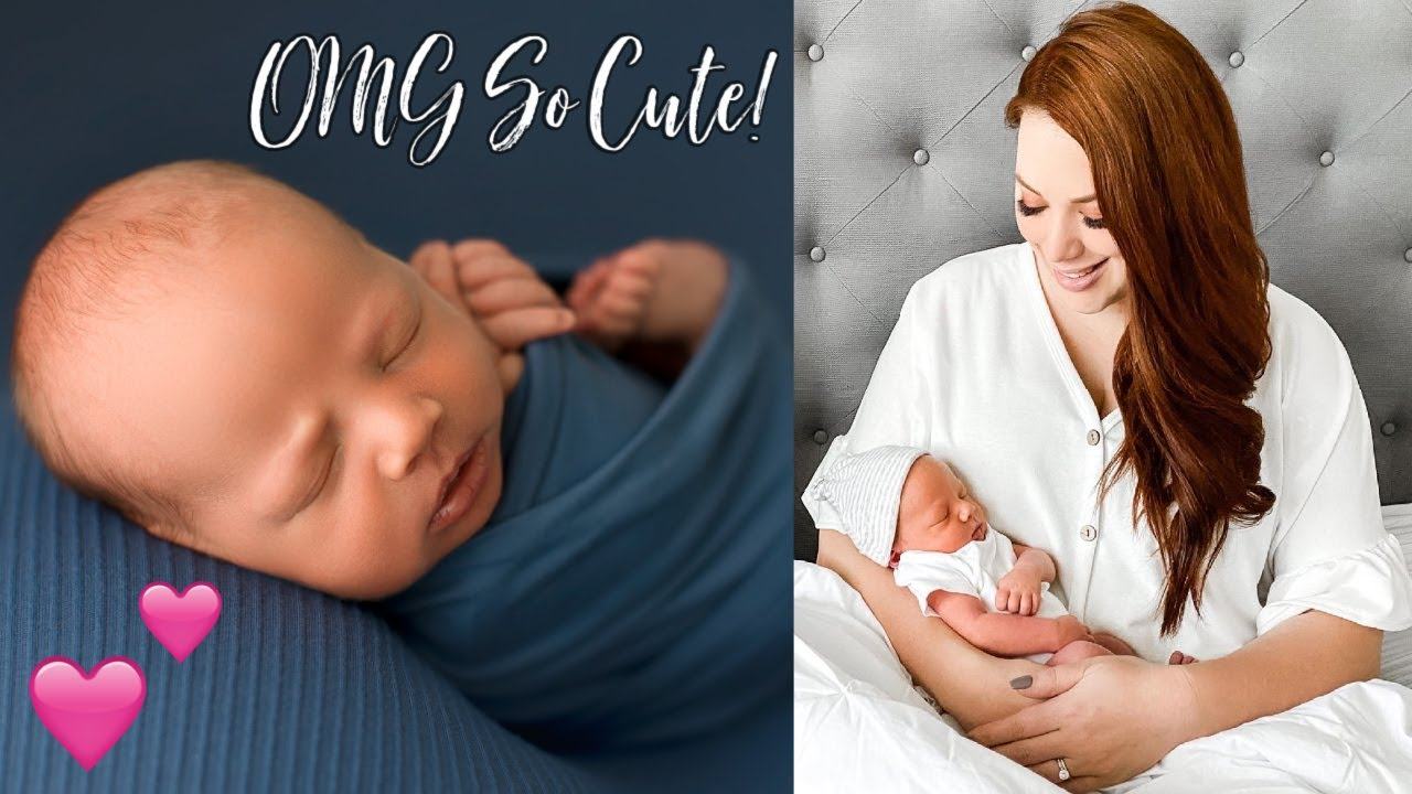 Baby Jagger's FIRST Newborn Photoshoot! OMG The CUTEST!!!