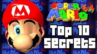 Super Mario 64 TOP 10 SECRETS & Tricks (Wii U, N64)