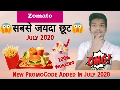 Zomato 2 New Promocodes Get 50% Discount in July 2020 Order food Online | Zomato offers Today