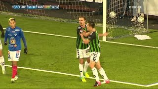 Höjdpunkter: Åtvid slog Gais i målfest på Kopparvallen - TV4 Sport