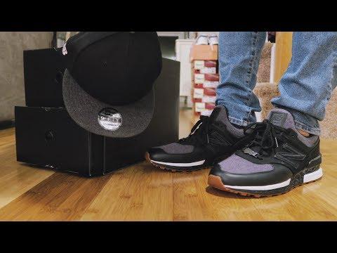 New Balance x New Era 574 Sport Hat/Sneaker Pack Review & ON FEET