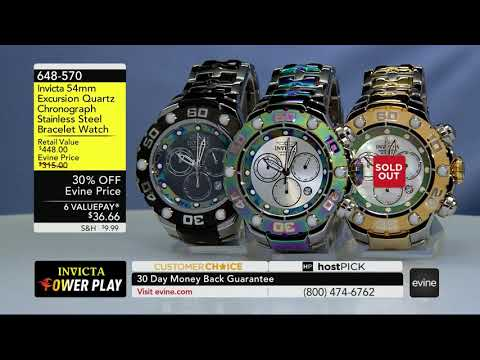 Invicta Power Play March 6, 2018 on Evine