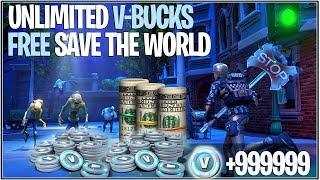 * NEU* Fortnite: UNLIMITED V-BUCKS UND *FREE* SAVE THE WORLD GLITCH! | (Super Einfach)
