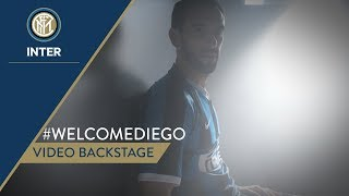 #WELCOMEDIEGO | VIDEO BACKSTAGE | Diego Godin [SUB ENG + ITA]