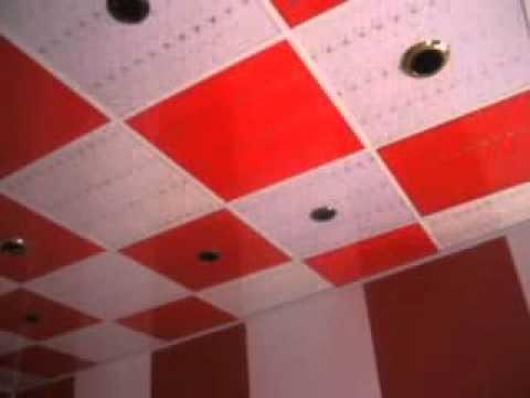 e762a75460be0 ديكور ابو علي الحارس السقف الثانوي وتغليف الجدران.flv - YouTube