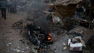 المقاتلات الروسية ترتكب مجزرة في مدينة البوكمال