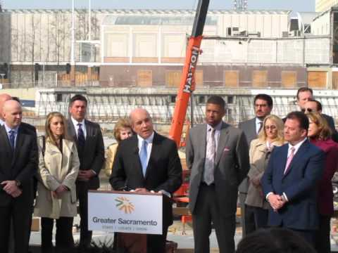 Greater Sacramento launch presser