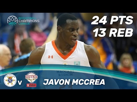 Javon McCrea scores 24 points and grabs 13 boards!