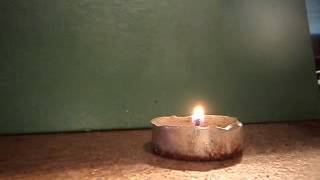 How To Light A Candle With A Fire Steel