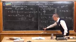 Урок 355. Затухающие электромагнитные колебания.