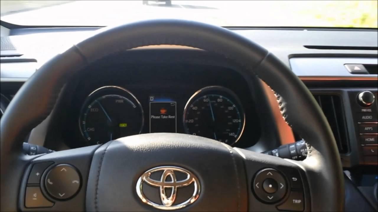 2016 Toyota Rav4 Hybrid Steering Ist And Adaptive Radar Cruise You