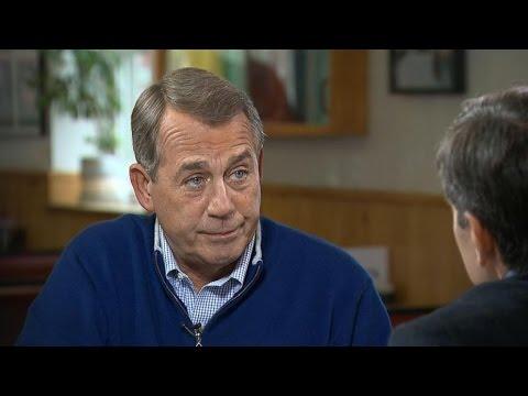 Former House Speaker John Boehner Thinks He's Anti-Establishment