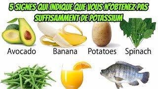 Voici 5 Signes Qui Indiquent Que Vous N'obtenez Pas Suffisamment De Potassium Et Voici Comment Le