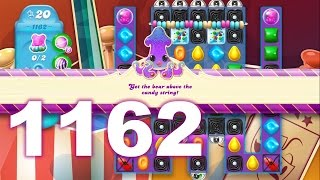Candy Crush Soda Saga Level 1162 (3 stars, No boosters)
